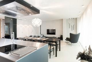 精美极简轻工业混搭公寓设计