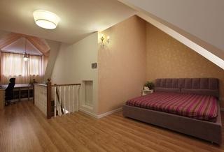 美式乡村风阁楼卧室设计
