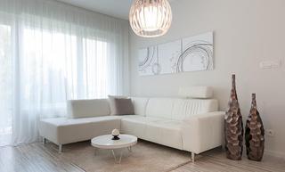 唯美迷人裸色简约北欧风情小公寓家居设计