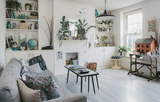 清新复古北欧田园风一居小公寓装潢设计欣赏