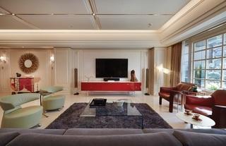 新古典装修风格客厅效果图