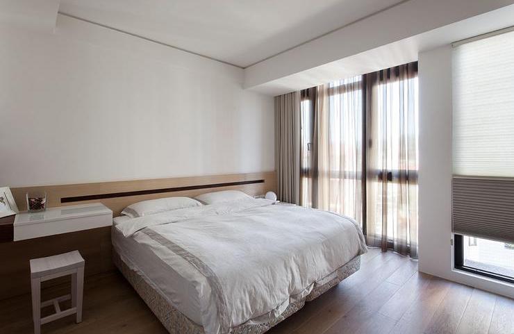 简洁现代卧室装修效果图