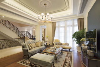 豪华欧式别墅室内家居装饰