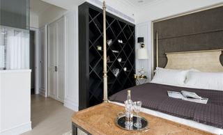 美式风格装修卧室置物柜设计