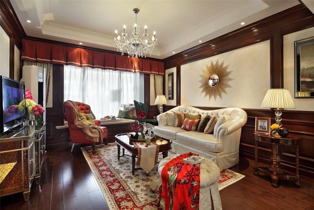 美式装修风格四室两厅效果图