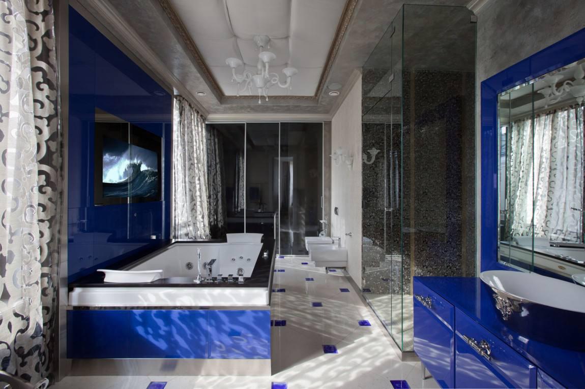 唯美豪华美式卫生间装修效果图