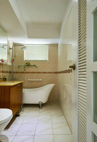 时尚现代风卫生间浴室装潢设计
