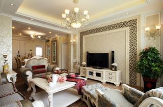 温馨浪漫欧式二居美宅设计图欣赏