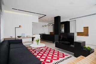 黑白摩登简约现代风 小户型公寓设计