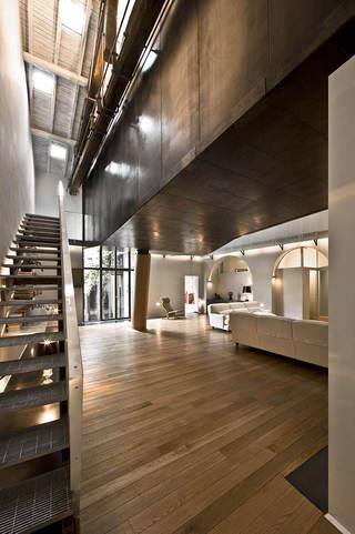 时尚现代大胆创意loft设计装修图