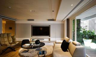 140平米现代公寓家居装修图