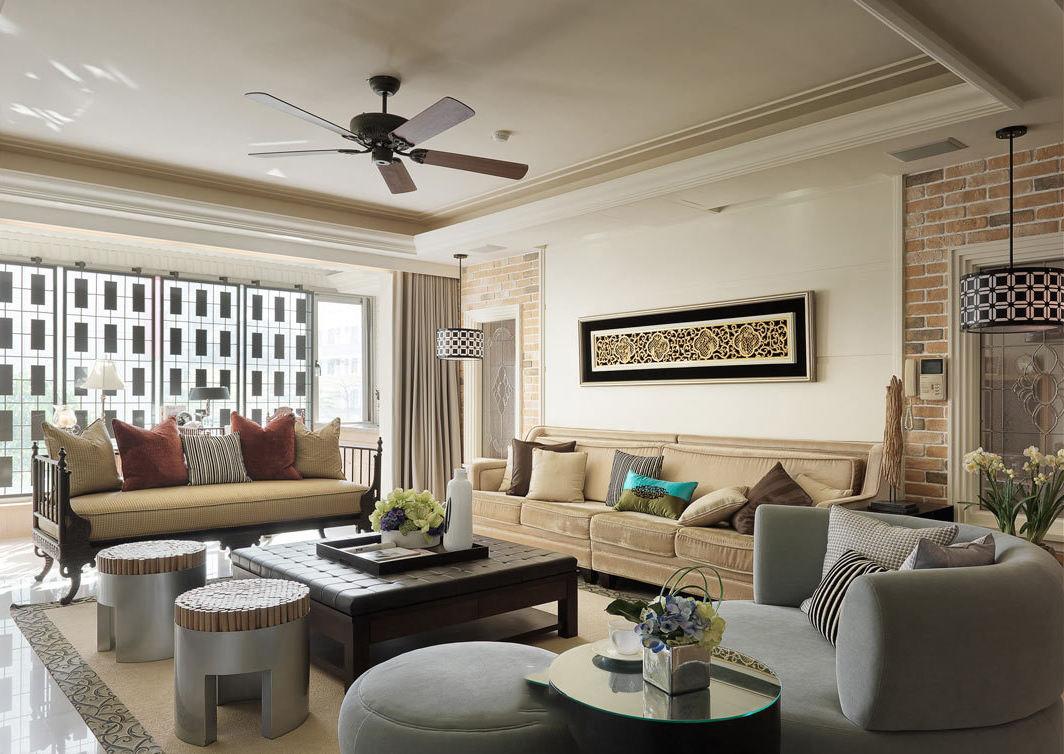 新古典风格公寓设计装修图