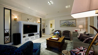 优雅精致美式新古典三居设计欣赏