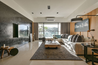 摩登现代宜家风混搭客厅装饰大全