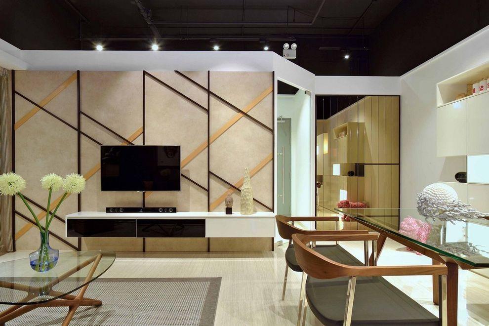 现代家装电视背景墙设计
