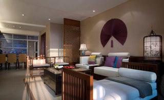 现代中式混搭设计装修四室两厅家装效果图