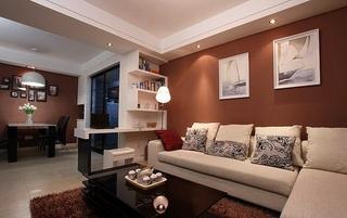 78平米现代时尚设计二居装修图
