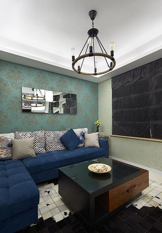 5万元打造家居现代小户型室内装修图