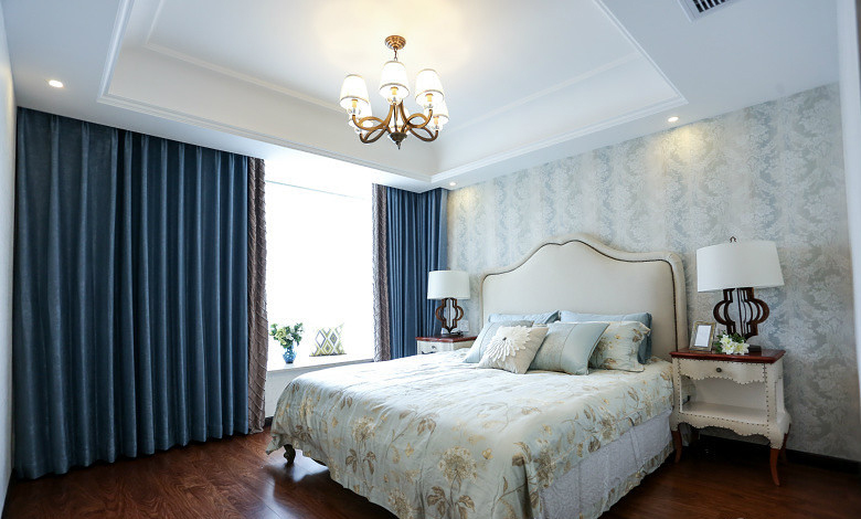 甜美小清新简欧风格卧室设计大全