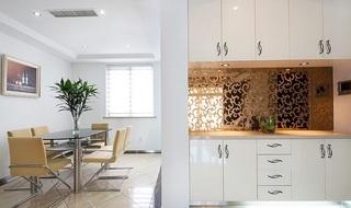 时尚个性清新现代简约风二居装潢设计
