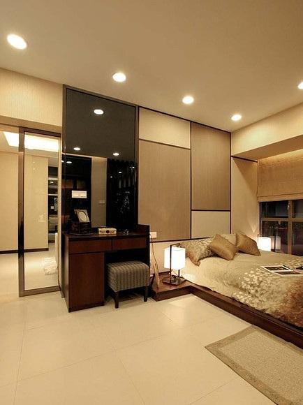 时尚现代日式卧室效果图