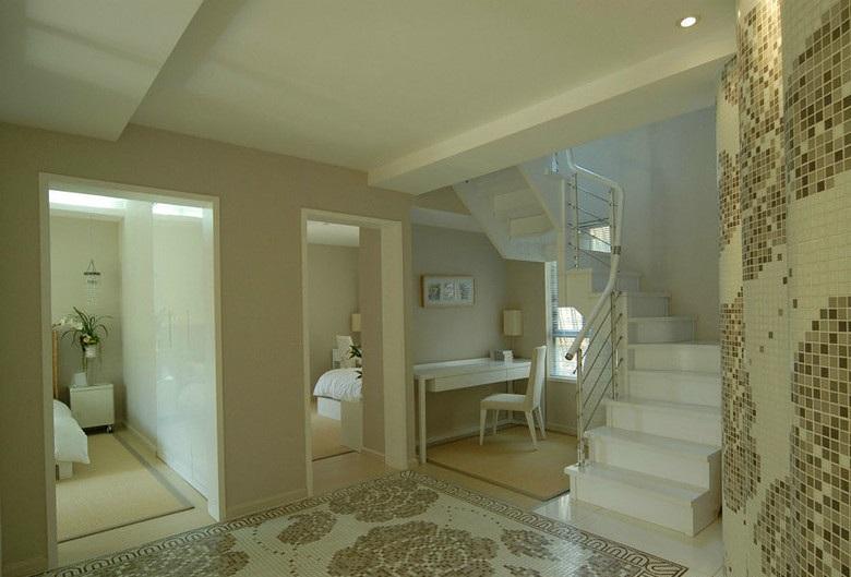 现代简约别墅楼梯装修设计图