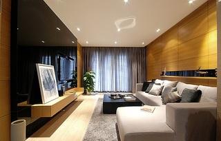 6万预算装修现代两室两厅一厨一卫设计图