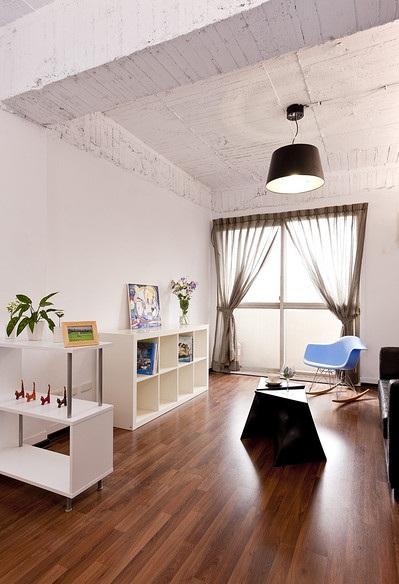 50平简约装修风格一居客厅装潢效果图