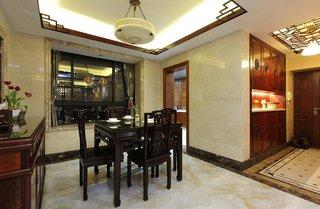 温馨中式餐厅装饰效果图大全
