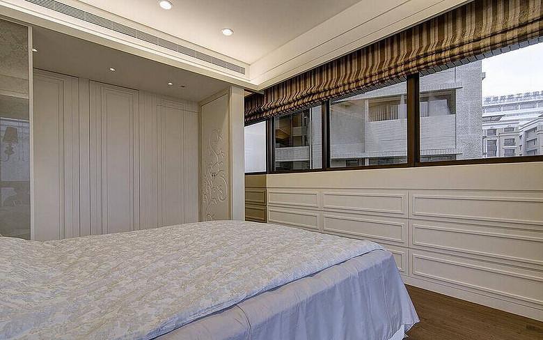 现代简约卧室窗户设计效果图