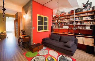 66平时尚现代小户型公寓家装装潢案例图