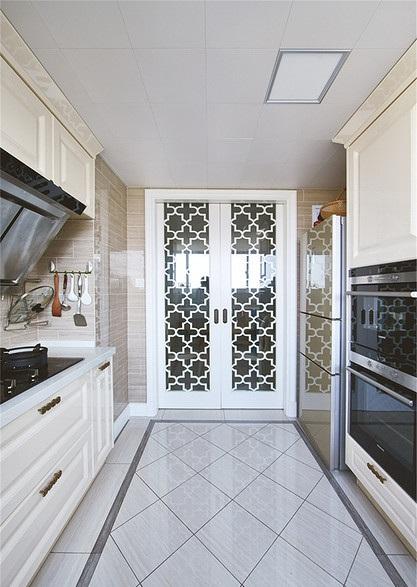 精美现代简欧厨房室内门隔断装饰