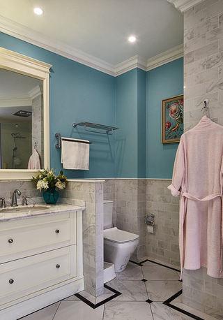 清新优雅美式小别墅装潢设计效果图