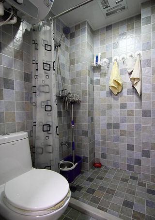 现代风格卫生间瓷砖装饰效果图