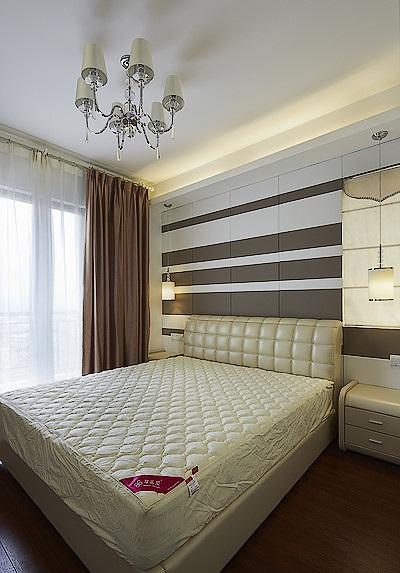 简约美式家装卧室样板房装修