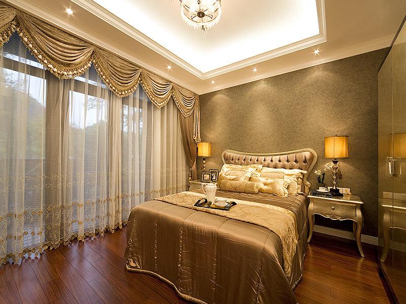 时尚华丽欧式卧室设计效果图大全