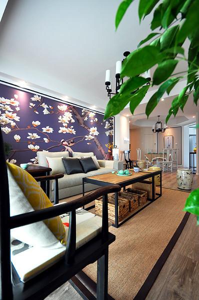 儒雅新中式风格二居室内装饰图