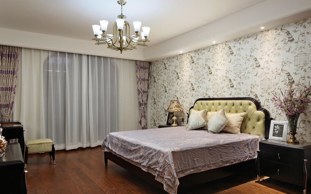 温馨精致简欧风格卧室装饰设计