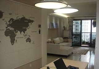 简约设计宜家装修风格一居室借鉴图