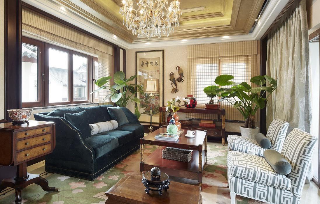中欧新古典风格别墅混搭设计