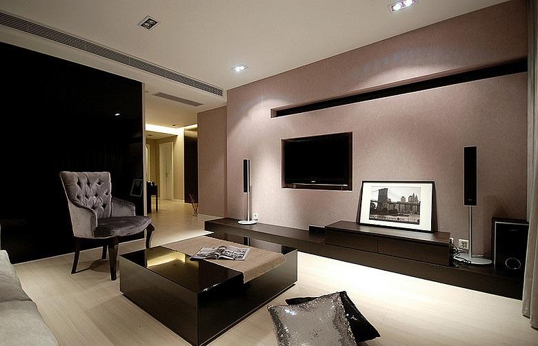 全包8万打造时尚现代二居装修图片
