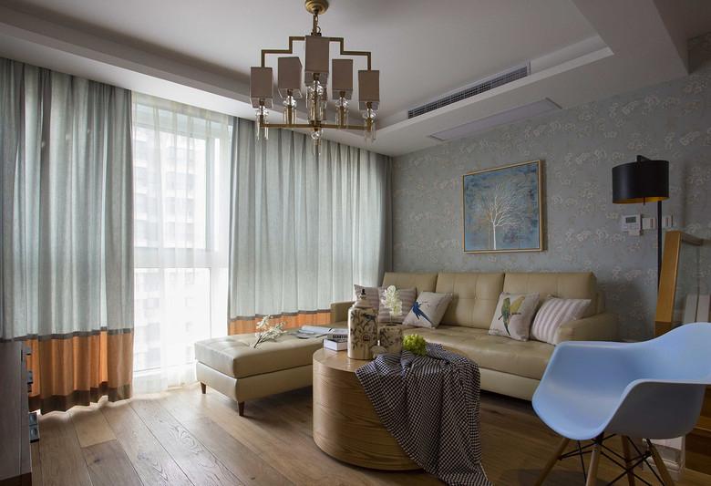 40平简约日式设计装修小户型室内装潢图片