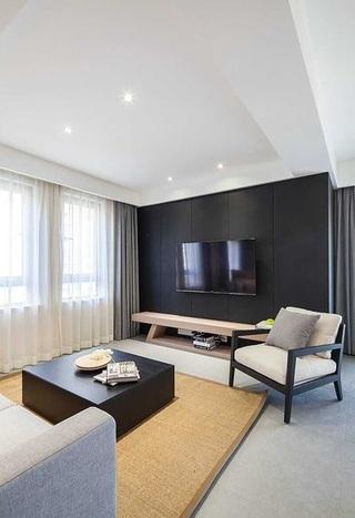 日式简约设计装修一室两厅室内装修图片