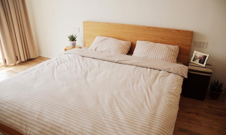 简洁家装日式卧室局部装饰效果图
