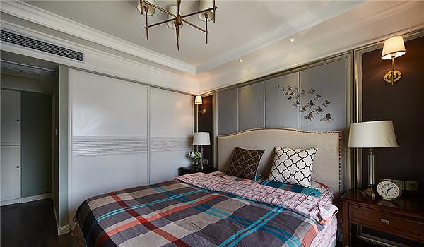 复古简欧风格卧室装修大全欣赏