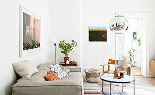纯净明亮北欧风格小户型二居室设计装修图