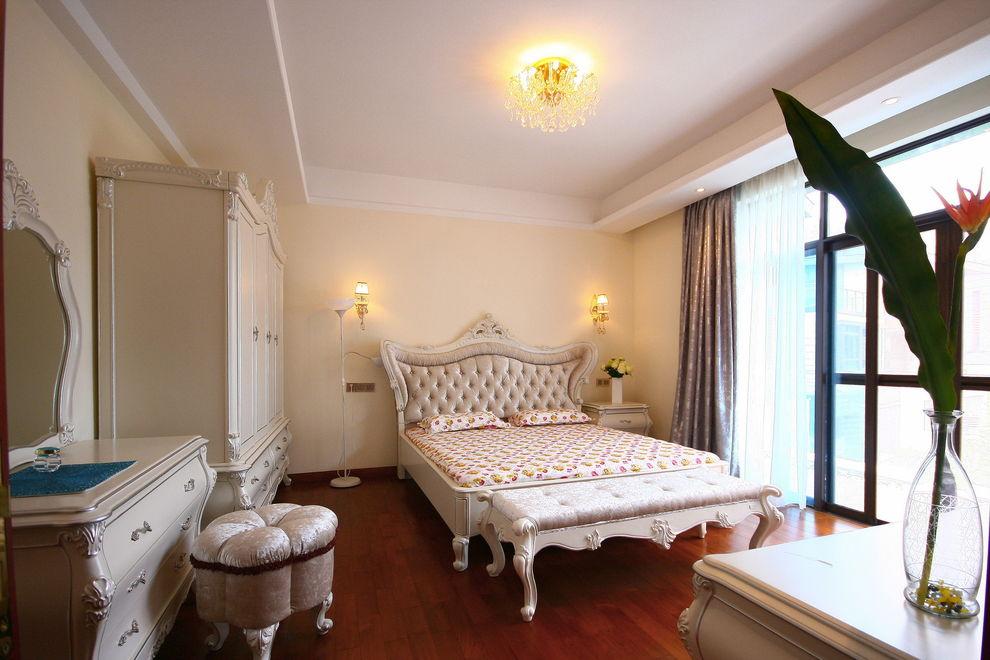 精致唯美欧式风格卧室装修效果图