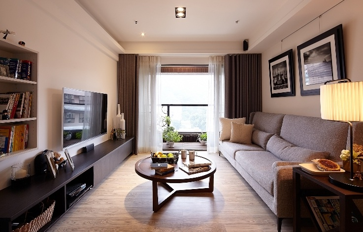 简约一室两厅装潢设计案例