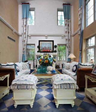 地中海风格别墅室内装修欣赏图片