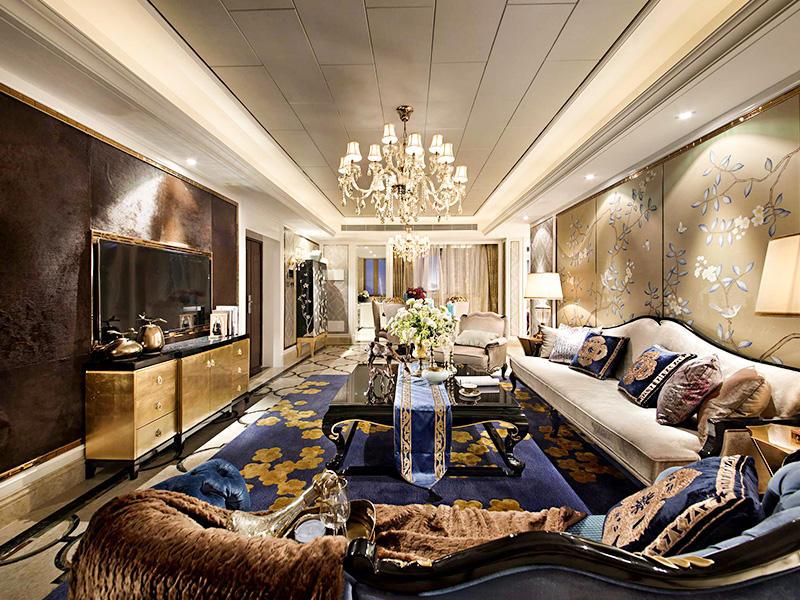 优雅豪华欧式风格别墅室内装修美图